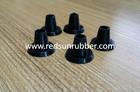black silicone dust plug