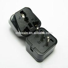 New product 2014! Italy, Chile, Kuba, Salvatore, Uruguay,Syria, Milan plug travel adapter, 3 round pin 5amp plug adapter