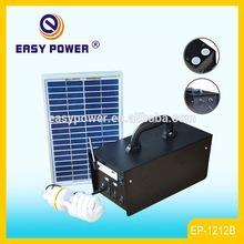 EP1212B Portable Mobile Charging System 20W Solar Lighting With USB Speaker Solar Power System Solar Power System