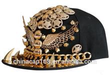 wholesale snapback caps/ snapback hat/flat peak cap