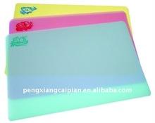 plastic chopping mat/flexible cutting board
