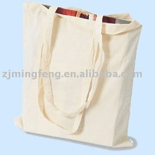 eco friendly white cotton bag for shopping packing(wz0932)