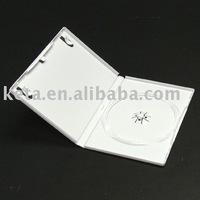 14mm White Color Single Disc Wedding Plastic DVD Case