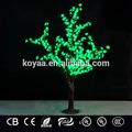 Artificial 1.5m led la luz del árbol de navidad de luz decorativos fz-384