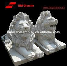 G633 granite stone lion sculpture