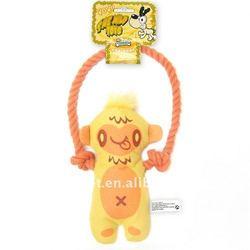 dog plush toys-rope skipping monkey (p6071)