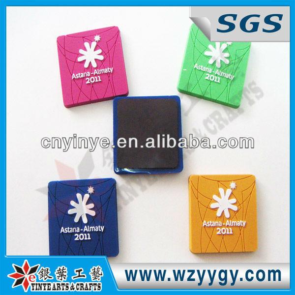 Colorful Promo PVC Fridge Magnet from China