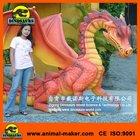 Outdoor playground Decoration Fiberglass Dragon
