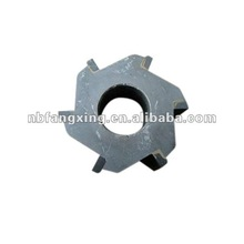 Road 6 tooth face milling cutter