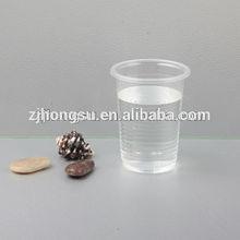 Non-toxic disposable plastic cups