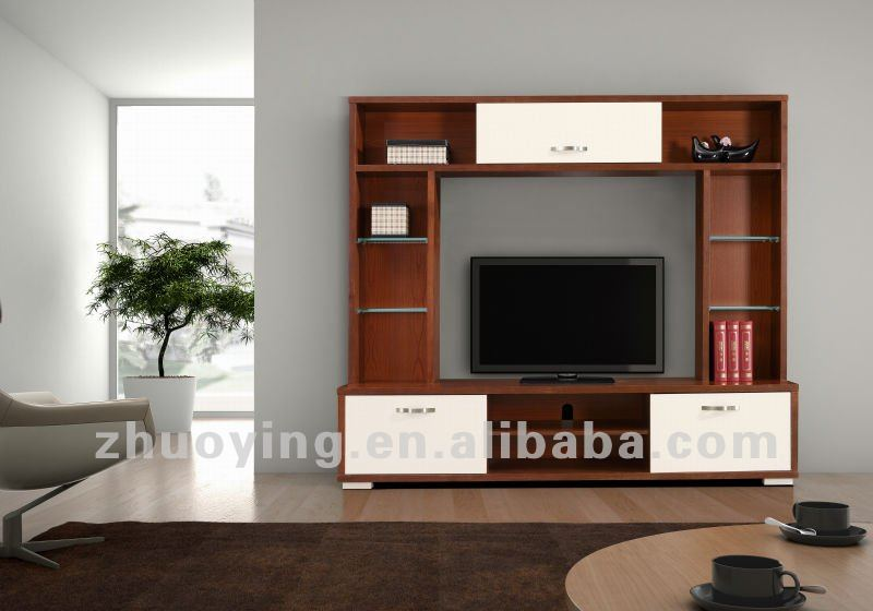 Modern Wooden Lcd Tv Stand Living Room Furniture FA09