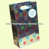 delicate dots CD\DVD paper bag