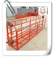 building cleaning suspended platform