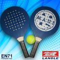 de madera de playa raqueta de tenis