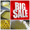 Glass wool blanket heat insulation building materials/glass wool