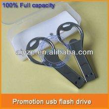 Mini metal bottle opener usb flash driver, mini usb disk