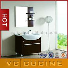 Foshan modern melamine bathroom vanity