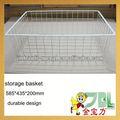 metal wire cheap storage baskets