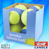 colour box packing or OPP bag packing felt balls volleyball rubber jumbo tennis balls