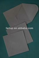 china manufacture white plain paper square envelope