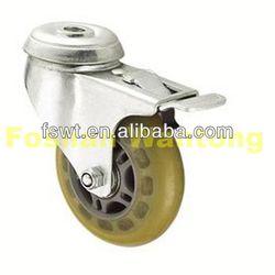 Light Duty Top Polyurethane(PU) diamond small wheels