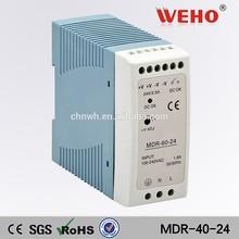 Good price mini model 40w 24v model power 40w ac/dc switch power supply