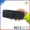 Shenzhen işlevli 2.4G kablosuz klavye android tv kutusu touchpad