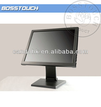 Hot sale! 19 inch square lcd promotion monitor screen touch for computer monitor