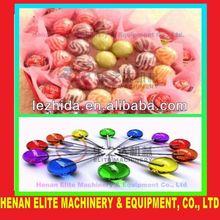 New designed PLC flat lollipop making machine