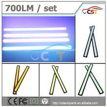 Factory price 80 chips high brightness 6W 17cm waterproof fog light Led COB daylight