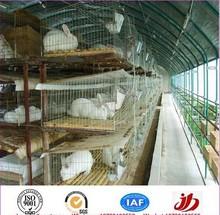 Rabbit farming breeding cages, metal animal husbandry rabbit cage