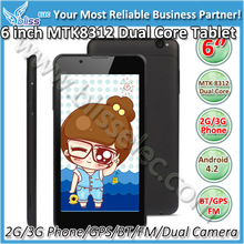 Best Lover! Dual Core GPS FM 6 inch android tablet pc