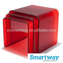 high quality translucent color acrylic 2mm plexiglass signboard