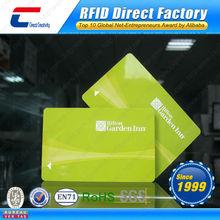 Hotel Door RFID Access Control Card/RFID Hotel Key Card