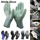NMSAFETY 2014 hot sales safety gloves pu gloves nitrile gloves latex gloves industrial gloves and heavy duty gloves