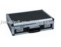 Black color custom made aluminium tools box instrument case storage box