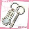 promotional decorative zinc alloy shiny nickel free plating golf hat clip