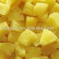 Frutas en conserva( de piña en conserva)