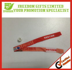 For Promotional Events Woven Wristband