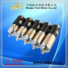 12V/24V 45mm diameter grill and oven brush DC motor planetary gear motor