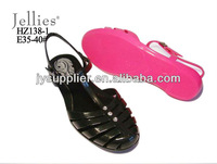 fashion jelly shoe for woman 2012