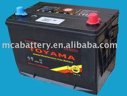 12V50Ah High Quality Maintenace-Free Car Battery