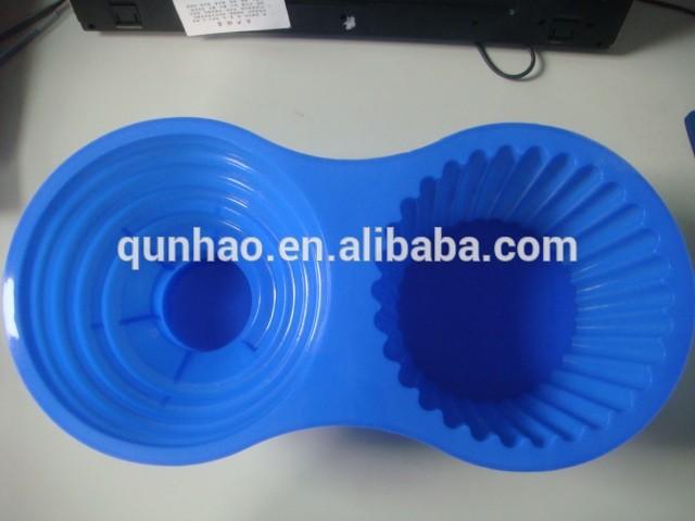 Jumbo gigante de la magdalena de silicona del molde& utensilios para hornear de silicona