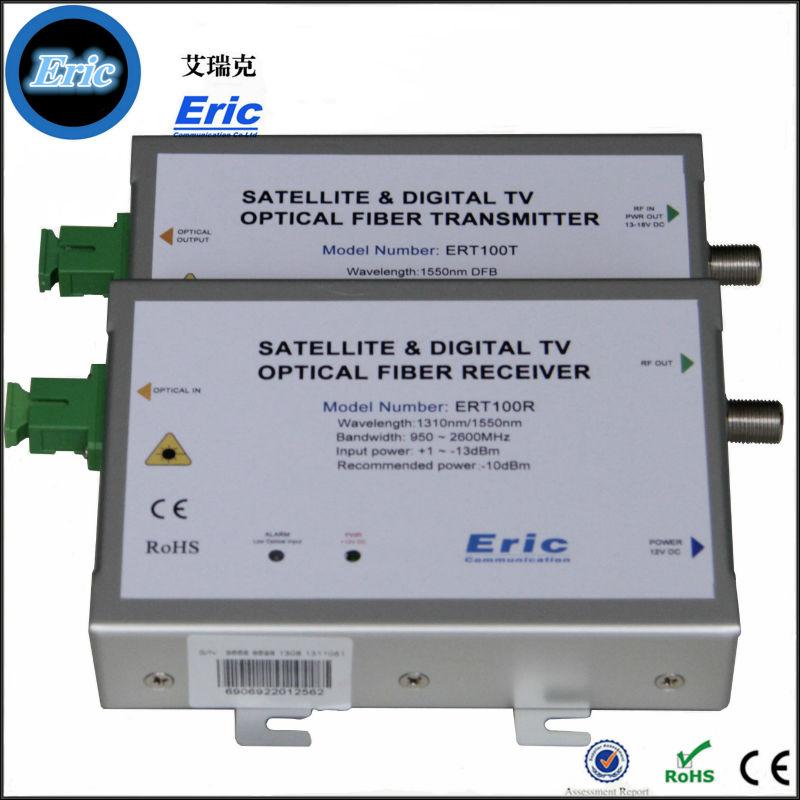 Eric Top Class ERT100R SAT-IF Satellite Optical Receiver/Satellite ...