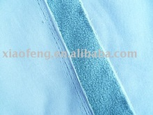100% polyester anti-pilling polar fleece bonded 4-way stretch woven fabric