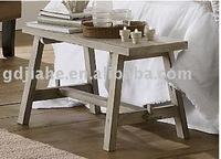 Hot!!! Trestle wood sitting Bench