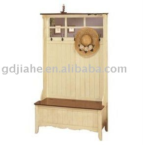 Home style hall clothing storage Bench,sitting bench