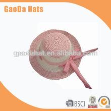 Lovely straw sun hats for children