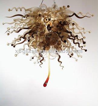 lampadari art deco : xo-2011820 art deco di vetro illuminazione lampadari-Lampadari ...