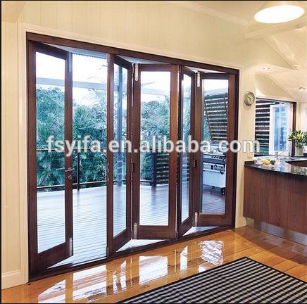 2015 Hot Sell Folding Door Bi Folding Door Folding Patio Doors Prices